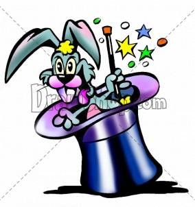 Hat Clip Art Cartoon Rabbit