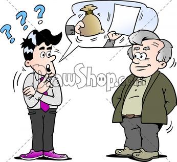 Marketing Clipart Salesman - Pushy Salesman Clipart - Free Transparent PNG  Clipart Images Download